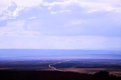 Road in Kaibab Platea, Arizona Royalty Free Stock Photography
