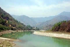 Road from Kathmandu to Pokhara Stock Images