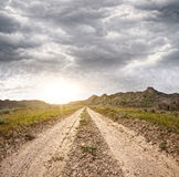 Road in Kazakhstan Stock Photography