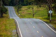 Road at Khao Yai National Park Stock Photo