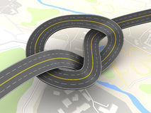 Road knot Stock Images