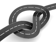 Road knot Stock Photography