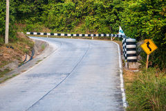 Road on Koh Phangan island Stock Photography