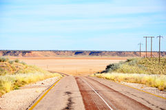 Road through Koopan in South Africa, Africa Stock Photography