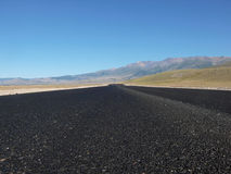 Road in the Kurai steppe Royalty Free Stock Photography