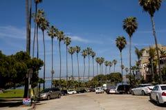 Road, La Jolla, California. La Jolla, San Jose, California Royalty Free Stock Photos