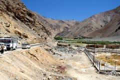 Road in Ladkh, India. stock photos