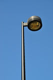 Road lamp. Against cloud sky Royalty Free Stock Photography