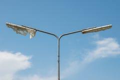 Road lamp post Stock Images