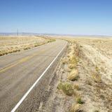 Road through landscape Stock Photo