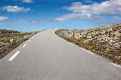 Road landscape Stock Images