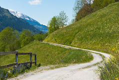 Road in landscape Stock Image