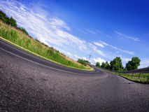Road in landscape Stock Photography