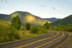 Road landscape Stock Image