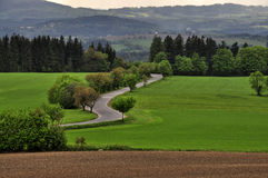 Road and landscape Stock Photography