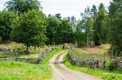 Road in landscape Stock Image