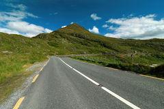 Road in landscape of Ireland Royalty Free Stock Image