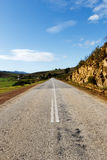 Road Landscape in Kareedouw Royalty Free Stock Photo