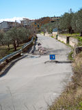 Road landslide Royalty Free Stock Photos