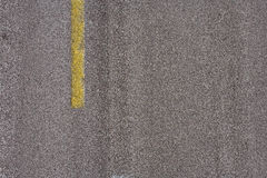 Road: Lane Striping On Highway Stock Image