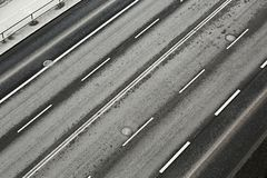 Road lanes Royalty Free Stock Image