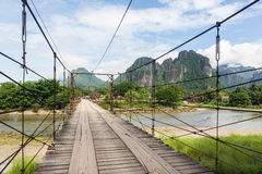 On the road in Laos Stock Photos