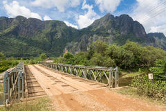 On the road in Laos Royalty Free Stock Photography