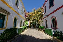 Road in Las Palmas. Residential road in Las Palmas, Canary Islands stock image