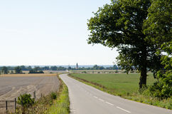 Road in late summer stock photos