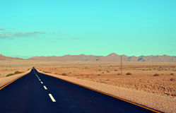 Road leading on Stock Photography