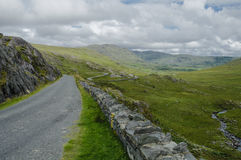 Road leading to the Healy Pass, Ireland, Europe Royalty Free Stock Image