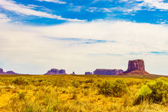 A road leading to Monument Valley Royalty Free Stock Images