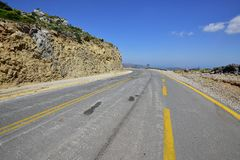 Road leading to Nowhere Royalty Free Stock Photo