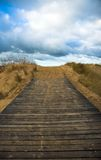 Road leading to the sky.  royalty free stock photography