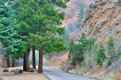 North Cheyenne Canyon Stock Images