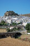 White village, Ardales, Andalusia. Stock Photography