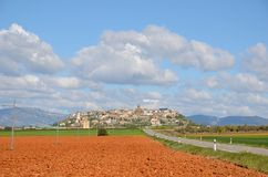 Spring view of the Spanish province Hueska Stock Photography