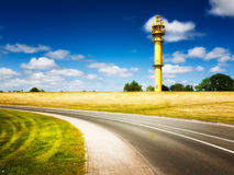 Road and lighthouse Royalty Free Stock Photo