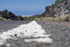 Road line Royalty Free Stock Photos