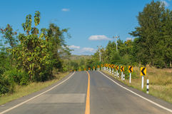 Road Loei province Stock Photo