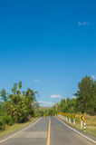 Road Loei province Royalty Free Stock Photos