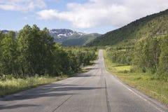 Road in the Lofoten Stock Image