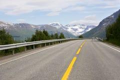 Road in the Lofoten Stock Photo
