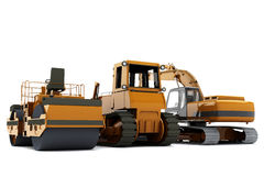 Road machinery Stock Image