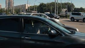 Road machines, Timelapse, 4k stock video