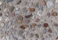 Road made of color stones Royalty Free Stock Images