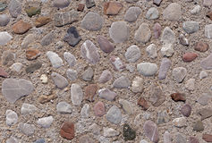 Road made of color stones Royalty Free Stock Photography