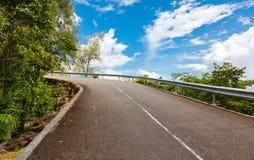 Road, Mahe island Stock Images