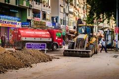 Road Maintenance Work Stock Photos