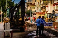 Road Maintenance Work Stock Photography